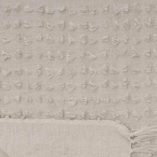 Life Styles Gt037 Khaki 50 X 60 Throw Blanket