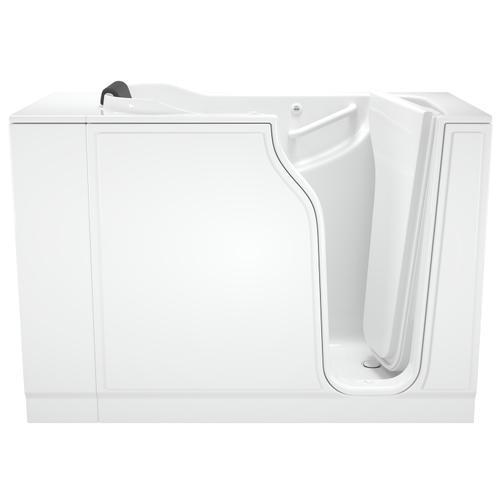 American Standard - Gelcoat Premium Series 30x52-inch Walk-In Bathtub with Whirlpool Massage System  American Standard - White