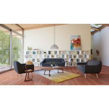 See Details - Divani Casa Afton Modern Grey Fabric Sofa Set