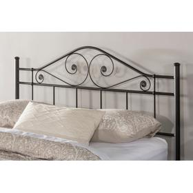 Harrison Full/queen Headboard With Rails - Texutred Black