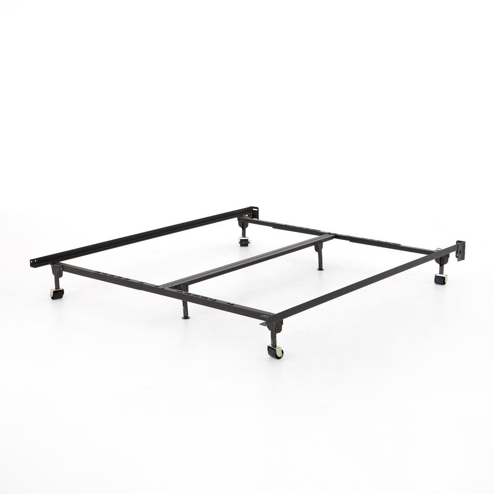 Metal Bed Frame-black-queen