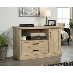 SauderPrime Oak Filing Cabinet with Drawer and Door
