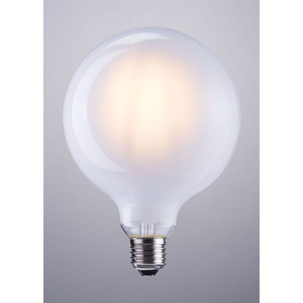 See Details - E26 G125 4w Led 125 X 175 Mm Frosted White