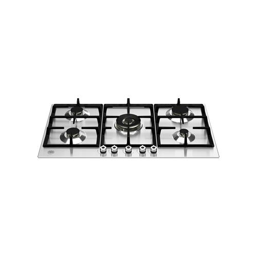 36 Front Control Gas Cooktop 5 burners Stainless Steel