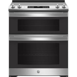 "GEGE® 30"" Slide-In Electric Convection Double Oven Range"