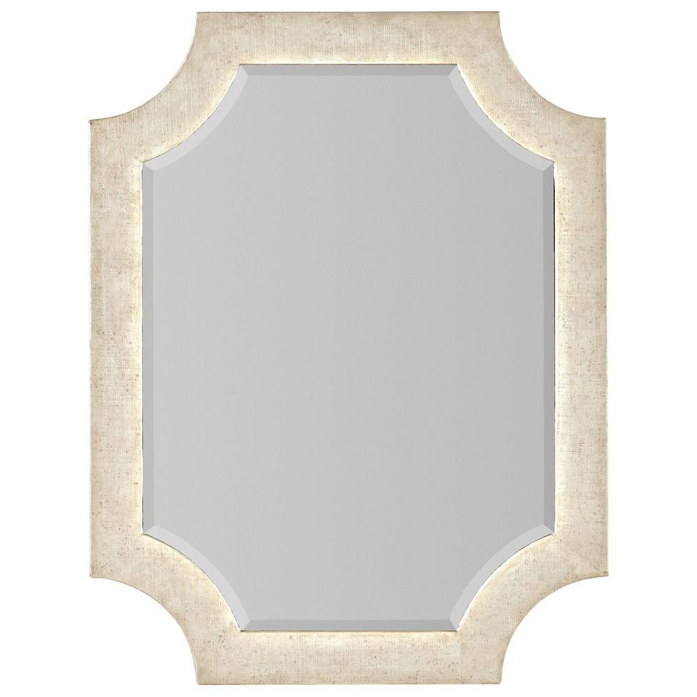 Bedroom Novella Madonna Linen Wrapped Portrait Mirror
