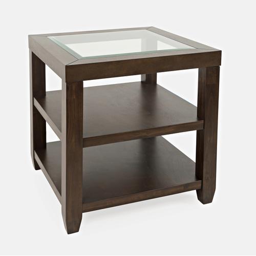 Urban Icon End Table-merlot