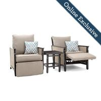 Colton 3pc Recliner Seating (2 Recliners and a side table) Product Image