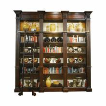 Belmont Library Triple Wall Unit with Ladder