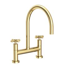 See Details - Forever Brass - PVD Kitchen Bridge Faucet