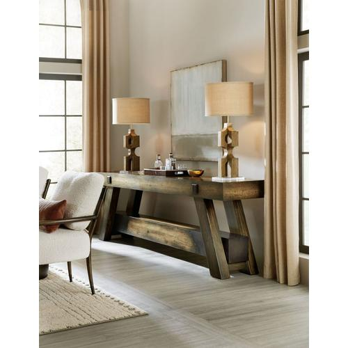 Living Room Crafted Console Table