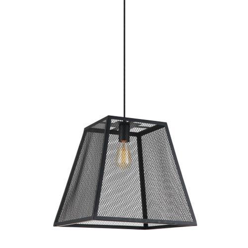 Product Image - Luminaire Matte Black Wire Mesh Pendant