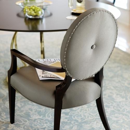 Jet Set Arm Chair in Caviar (356)