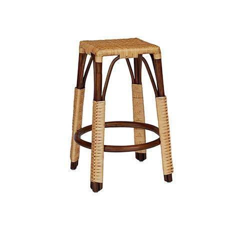 Counter Stool - Chocolate/Natural Finish