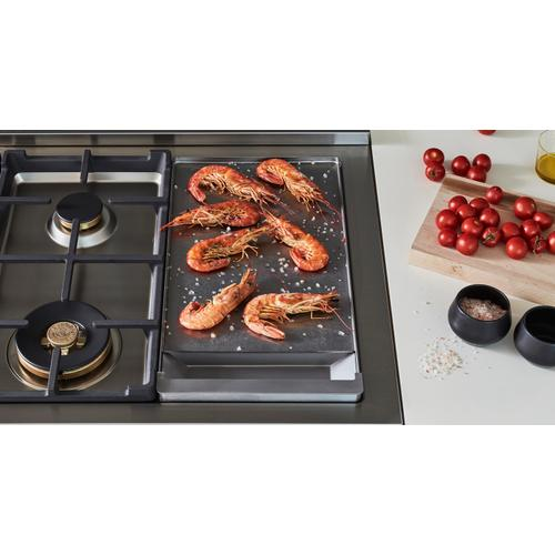 "48"" Master Series range - Gas Oven - 6 brass burners + griddle - LP version"