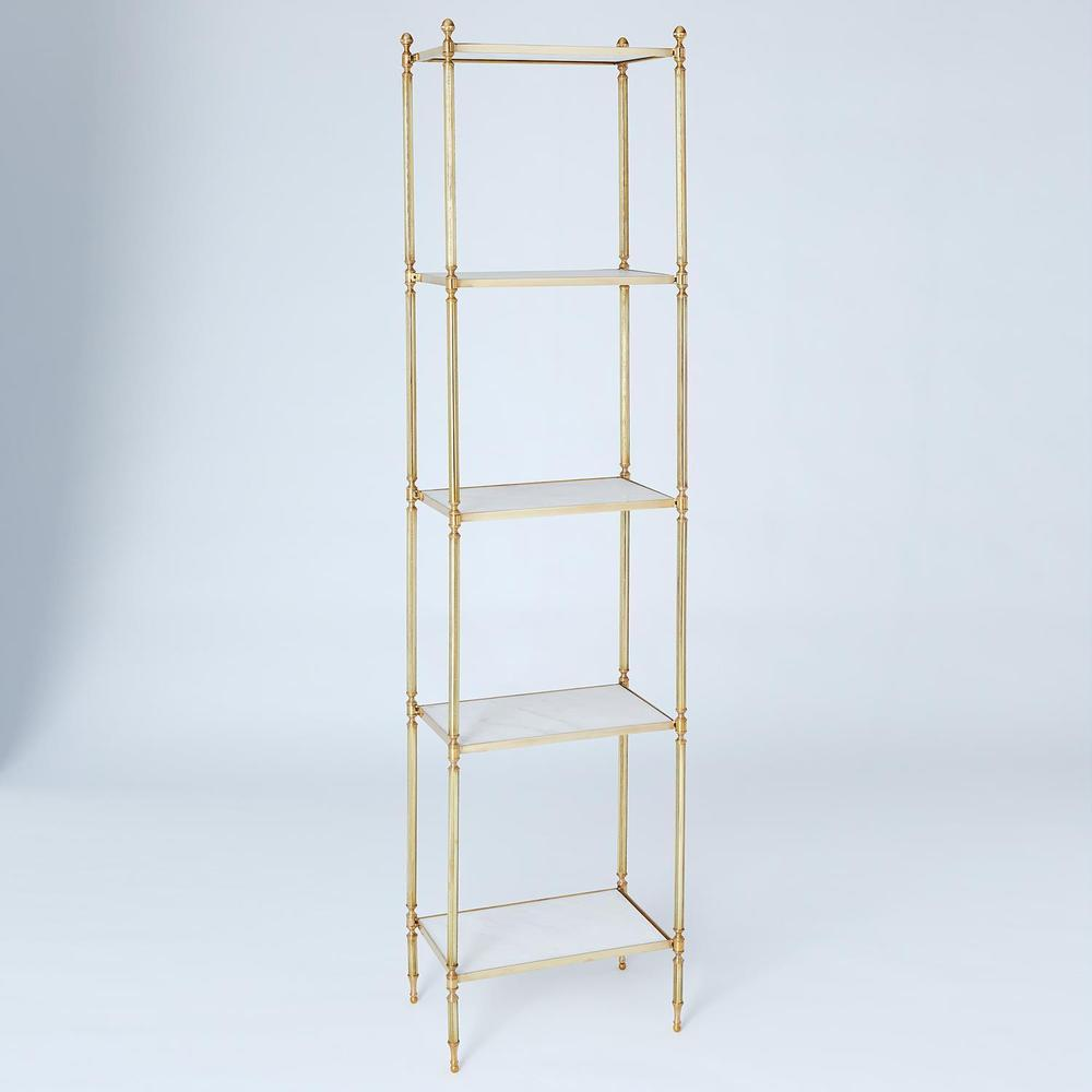 See Details - Acorn Etagere-Brass
