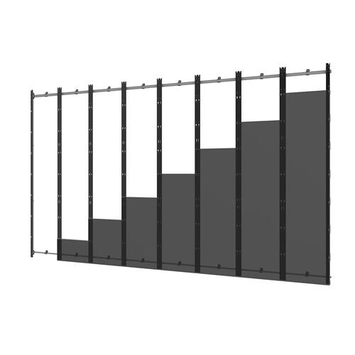 SEAMLESS Kitted Series Flat dvLED Mounting System for LG LAS Series Direct View LED Displays - 8x8