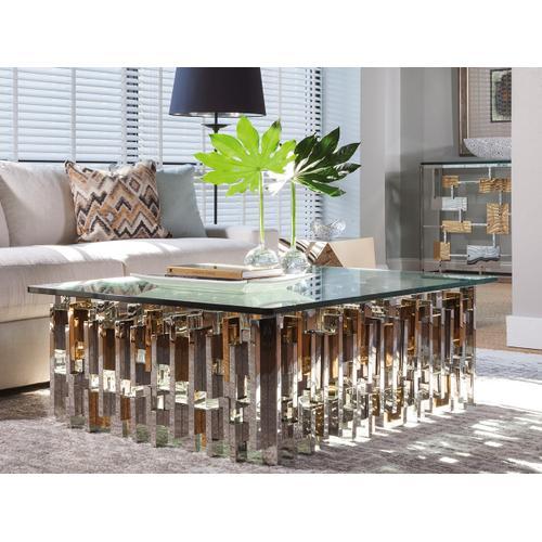 Cityscape Rectangular Cocktail Table