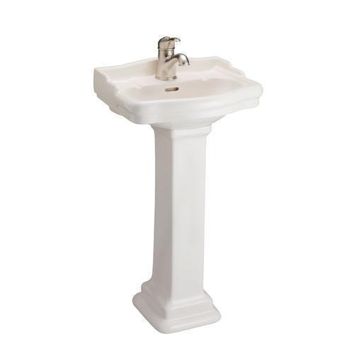 Stanford 460 Pedestal Lavatory - Single-Hole / Bisque