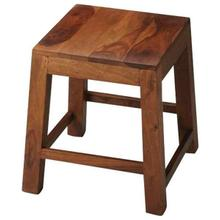 See Details - This unpretentious stool is an ideal complement to any modern space. Featuring the alluring grain of its solid sheesham wood construction, it is lightweight for easy transport from one space to the next, with sturdy construction to withstand everyday use.