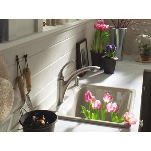 "White 25"" X 22' X 14-15/16"" Undermount Utility Sink With 4 Faucet Holes"