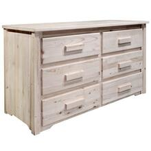 Homestead Collection 6 Drawer Dresser