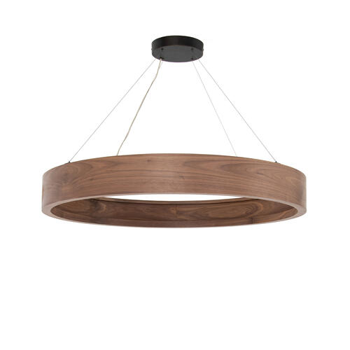 Large Size Baum Chandelier - Dark Walnut