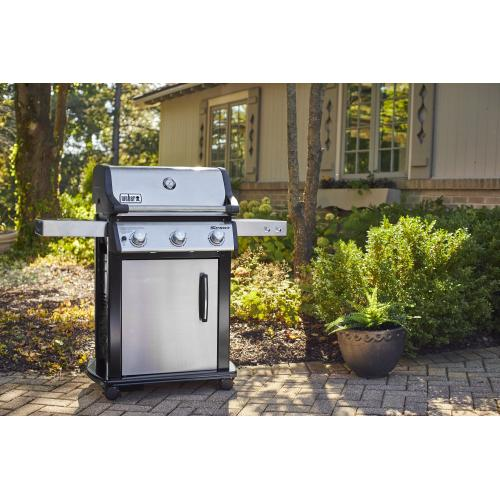 Spirit S-315 Gas Grill - Stainless Steel