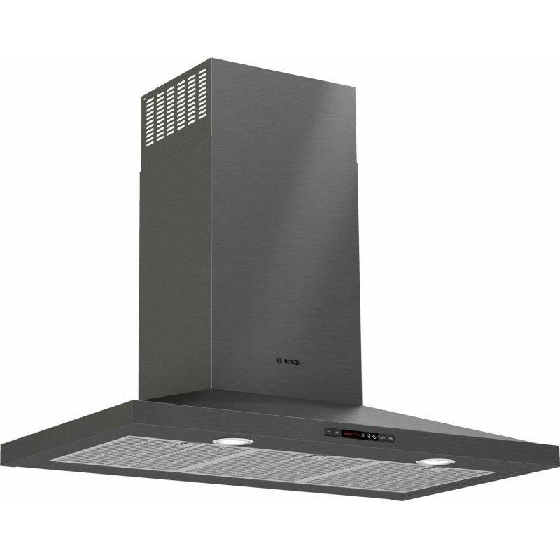 800 Series Wall Hood 36'' Black stainless steel HCP86641UC