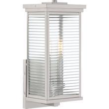 View Product - Gardner Outdoor Lantern in Stainless Steel