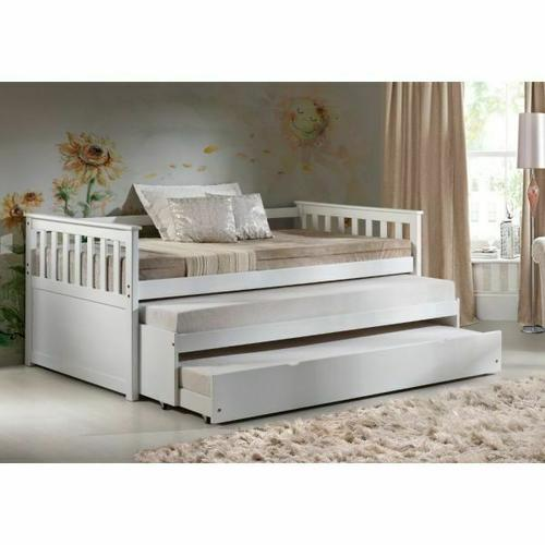 ACME Cominia Daybed & Pull-Out Bed - 39080 - White