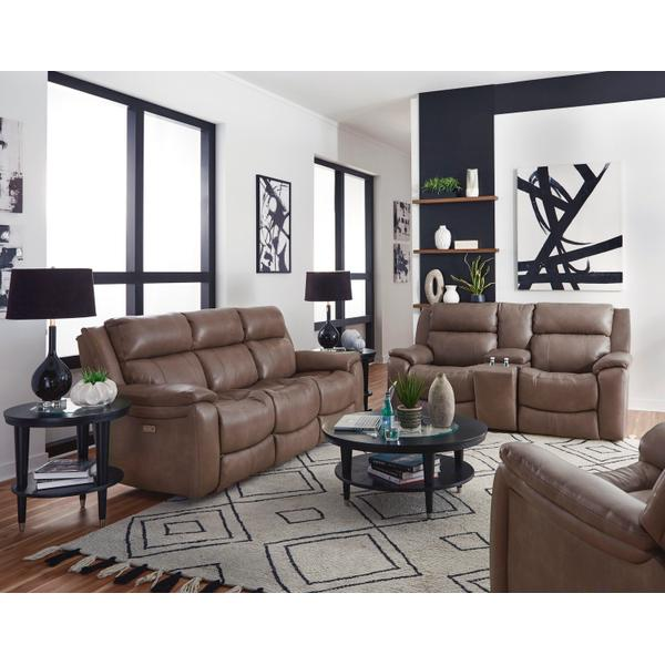 See Details - Double Reclining Loveseat with Console & Hidden Cupholders