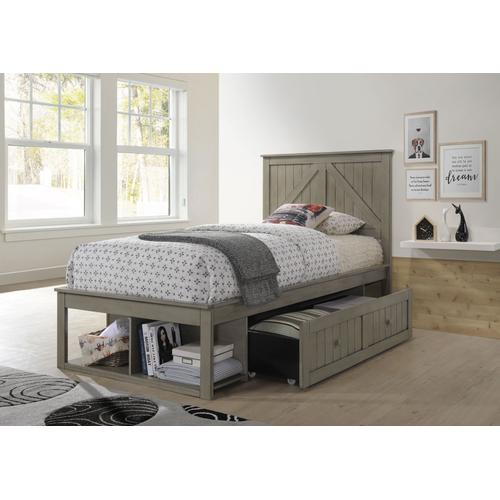 3016 Ashland Youth Twin Bed Grey