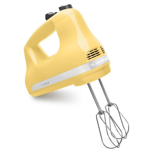 5-Speed Ultra Power Hand Mixer Majestic Yellow