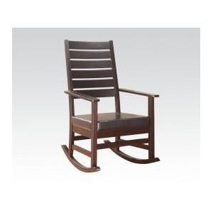 Acme Furniture Inc - Cappuccino Rocking Chair