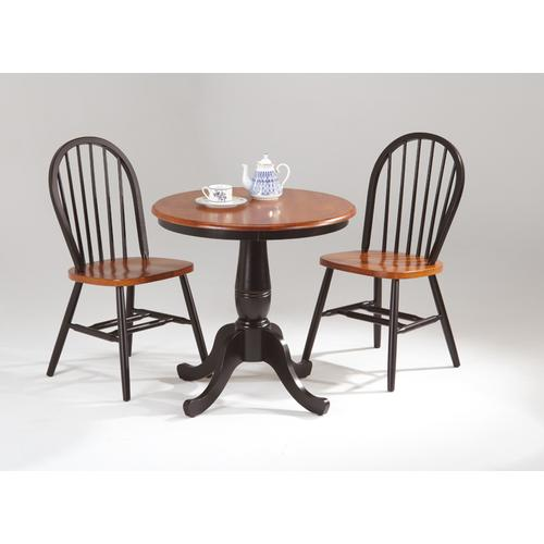 Amesbury Chair - Round Pedestal Table