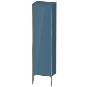 Tall Cabinet Floorstanding, Stone Blue High Gloss (lacquer)