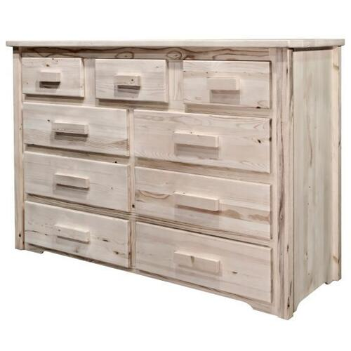 Montana Woodworks - Homestead Collection 9 Drawer Dresser