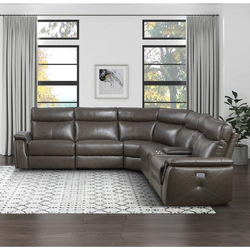 Gallery - Power Armless Reclining Chair with Power Headrest