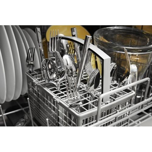 Panel-Ready Quiet Dishwasher with Stainless Steel Tub