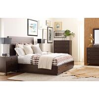 Austin by Rachael Ray Panel Bed w/ Storage Queen, 5/0 Product Image