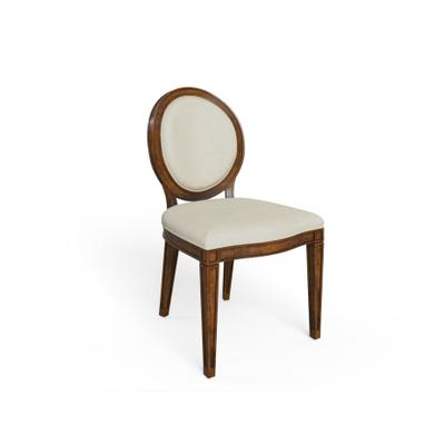 Hillside Oval Side Chair - Chestnut