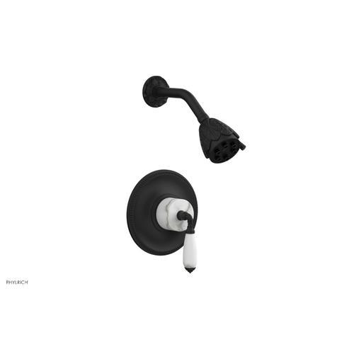 Phylrich - VALENCIA Pressure Balance Shower Set PB3338B - Matte Black