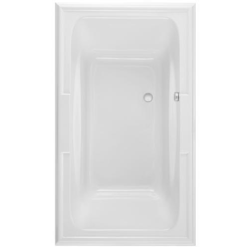 Town Square 72x42 inch EverClean Air Bath - Arctic White