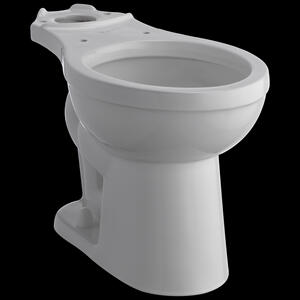 White Elongated Front Bowl Product Image