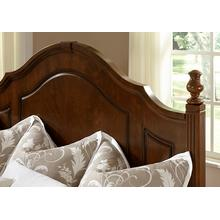 Queen Poster Bed with Footboard Storage