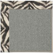 Creative Concepts Plat Sisal Tigress Zinc Machine Tufted Rugs