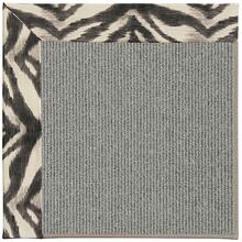 Creative Concepts Plat Sisal Tigress Zinc Machine Tufted Rugs
