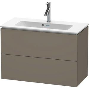 Vanity Unit Wall-mounted Compact, Flannel Gray Satin Matte (lacquer)