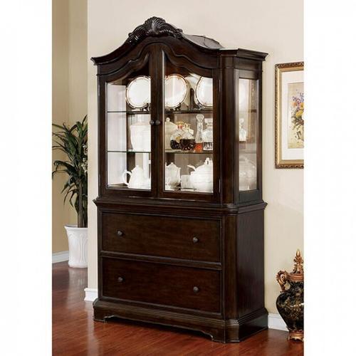Furniture of America - Rosalina Hutch & Buffet